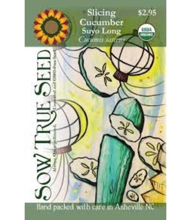 Sow True Seed Cucumber - Suyo Long