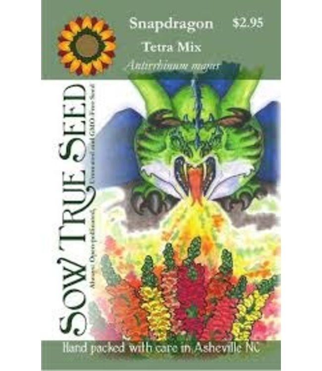 Sow True Seed Snapdragon - Tetra Mix