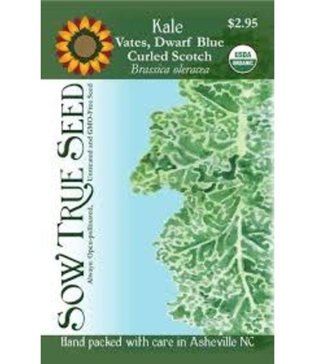 Sow True Seed Kale - Vates Dwarf Blue Scotch