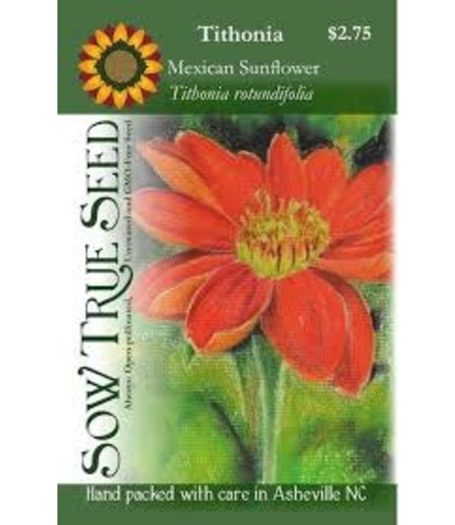 Sow True Seed Tithonia - Mexican Sunflower