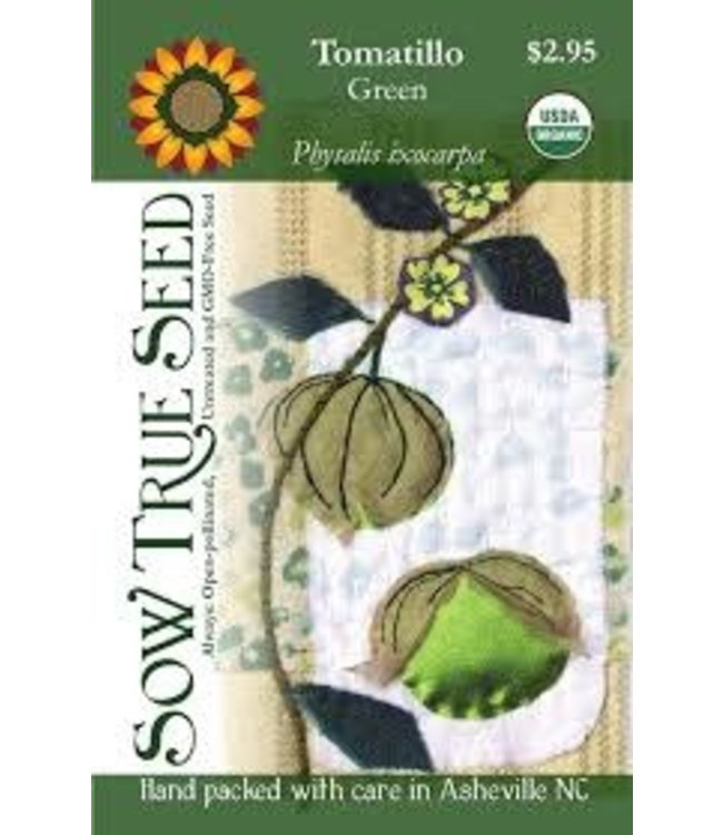 Sow True Seed Tomatillo - Green