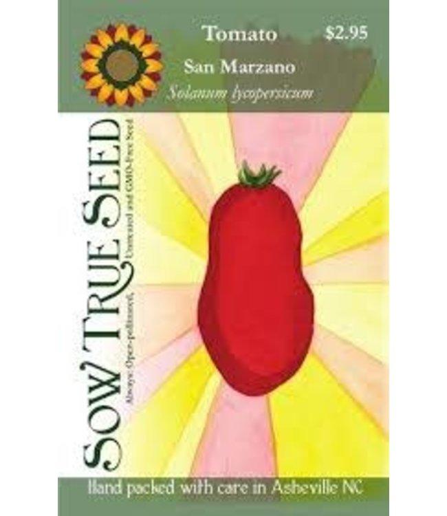Sow True Seed Tomato - San Marzano