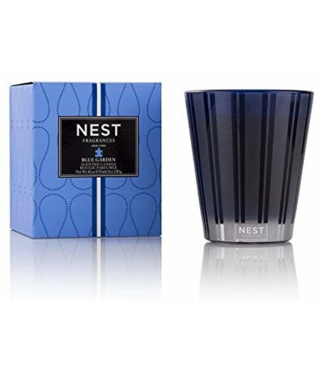 Nest Candle Blue Garden 8 oz