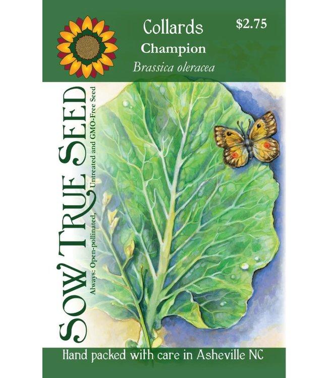 Sow True Seed Collards Champion