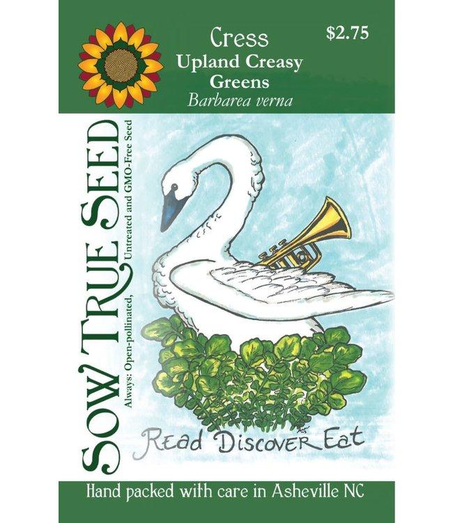 Sow True Seed Cress Upland Creasy Greens