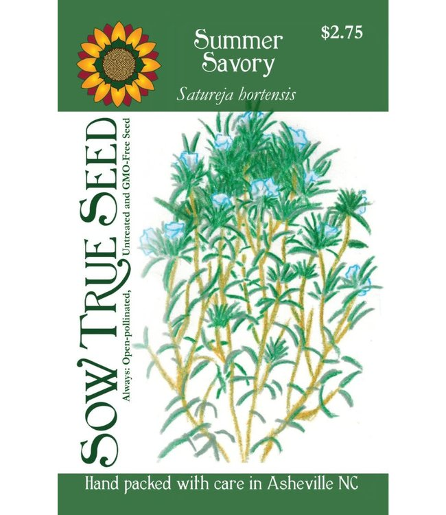 Sow True Seed Summer Savory