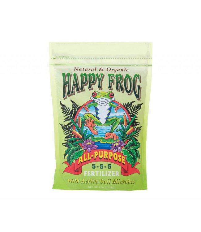FoxFarm Happy Frog All-Purpose Fertilizer 4 lbs