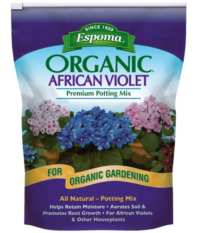 Espoma African Violet Potting Mix 4 qt