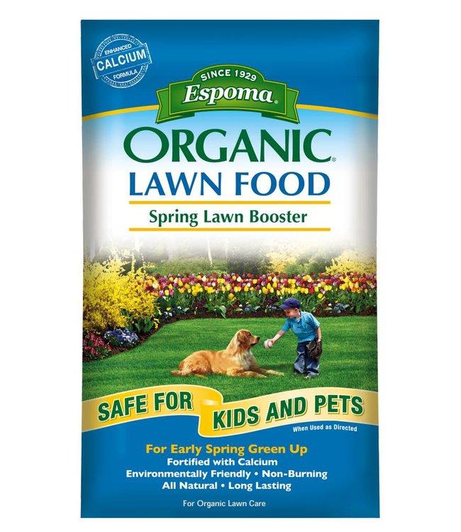 Espoma Lawn Food - Spring Lawn Booster 30 lb