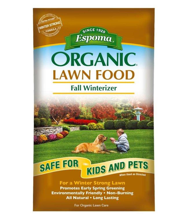 Espoma Lawn Food - Fall Winterizer 30 lb