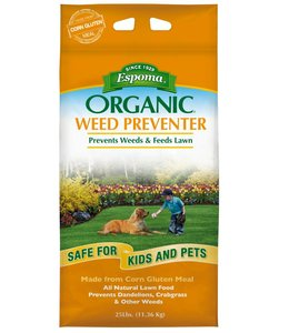 Espoma Weed Preventer Plus Lawn Food 25 lb