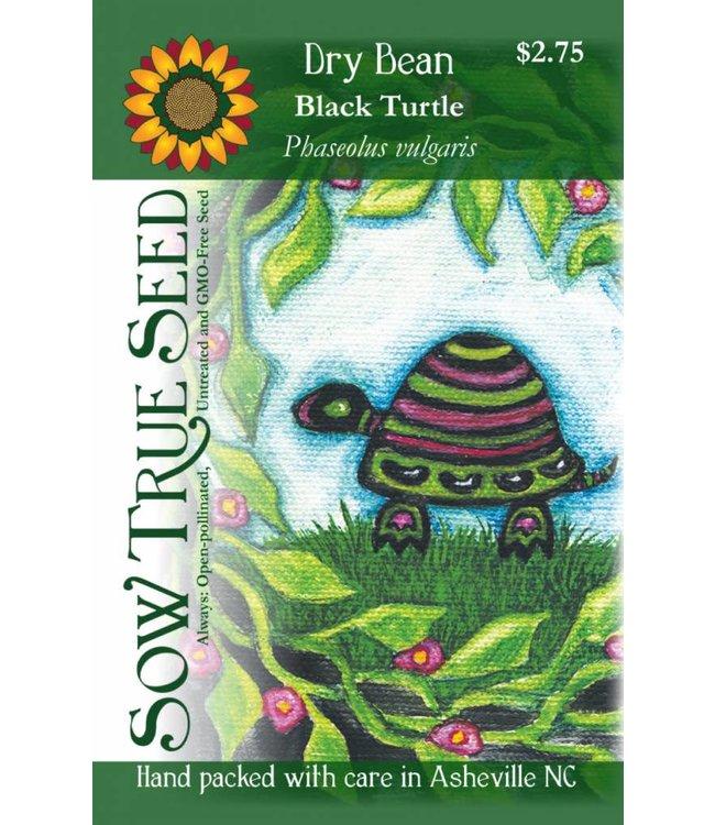 Sow True Seed Dry Bean - Black Turtle