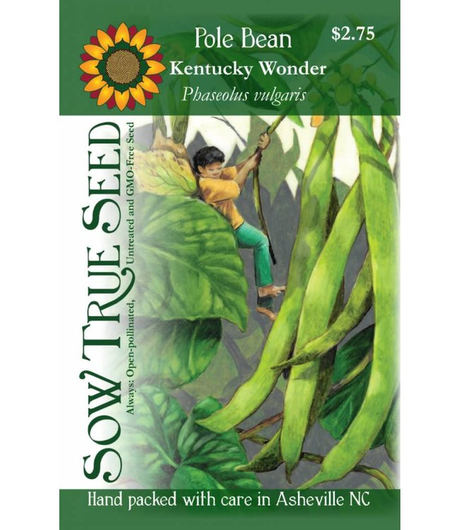 Sow True Seed Pole Bean - Kentucky Wonder