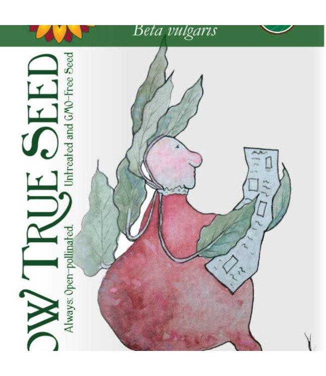 Sow True Seed Beet - Detroit Dark Red
