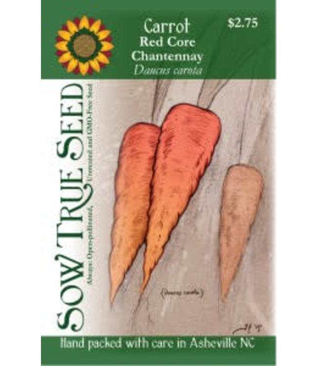 Sow True Seed Carrot - Red Core Chantennay