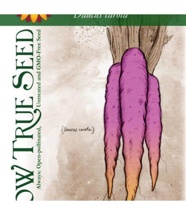 Sow True Seed Carrot - Cosmic Purple