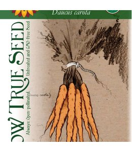 Sow True Seed Carrot - Tender Sweet Organic