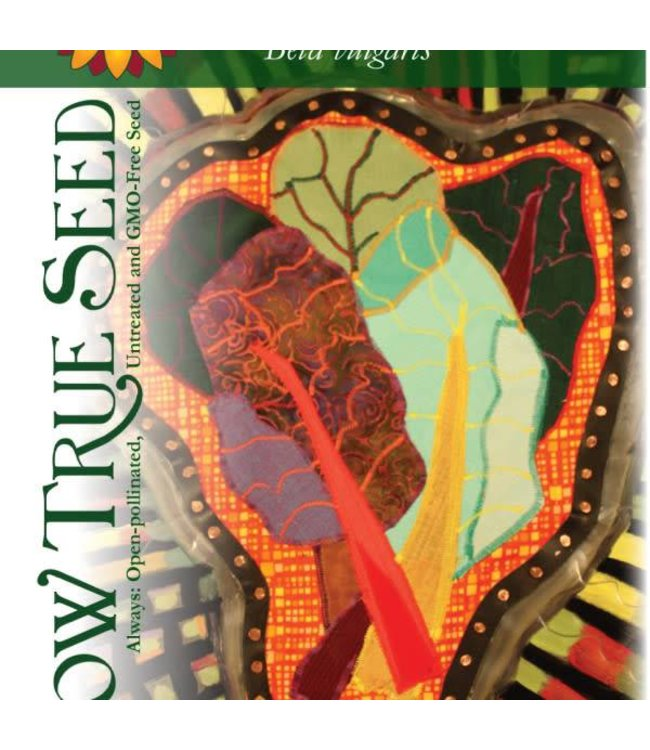 Sow True Seed Swiss Chard - Rainbow Blend