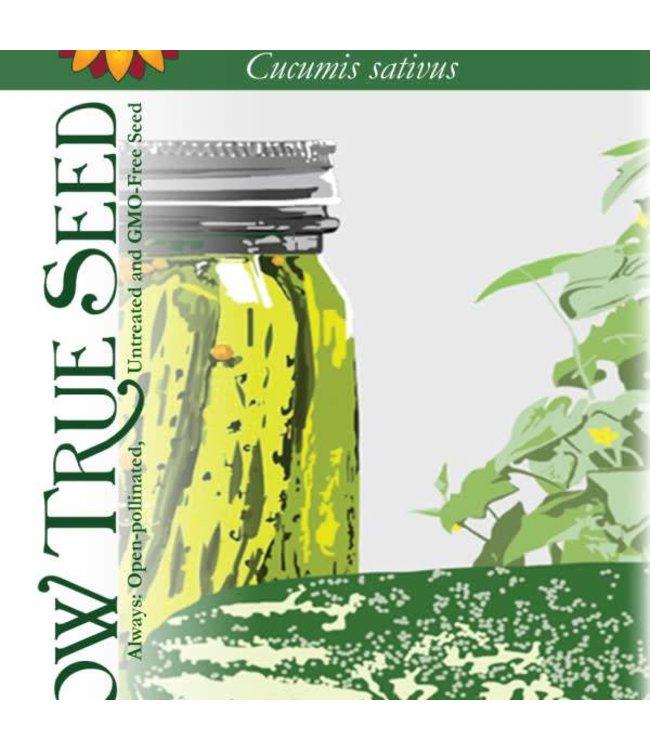 Sow True Seed Cucumber - Bush Pickle