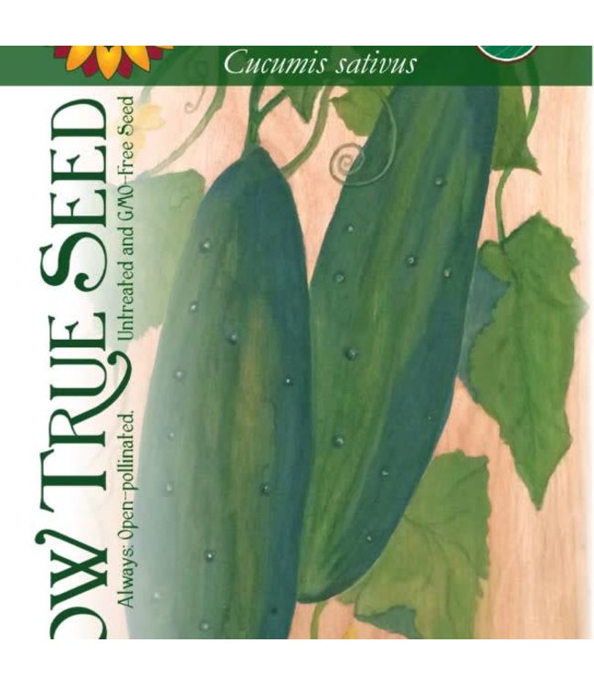 Sow True Seed Cucumber - Marketmore 76 Organic