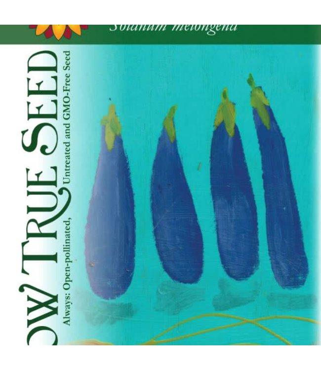Sow True Seed Eggplant - Long Purple