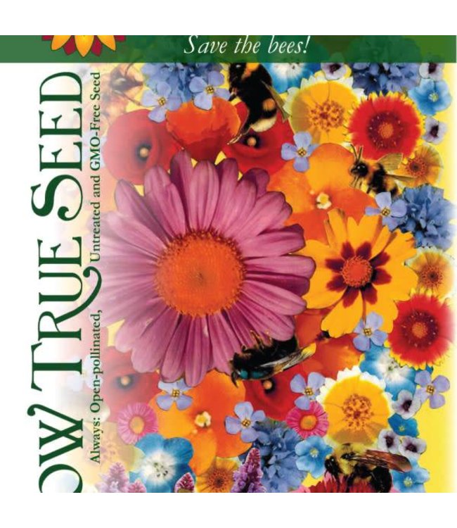 Sow True Seed Flower Mix - Bee Feed