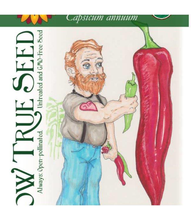 Sow True Seed Pepper - Big Jim