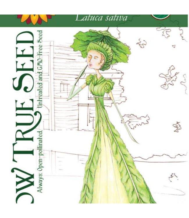 Sow True Seed Lettuce - Black Seeded Simpson