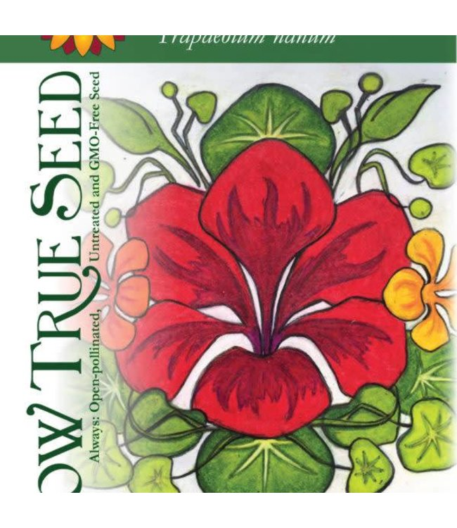 Sow True Seed Nasturtium - Dwarf Jewel Mix