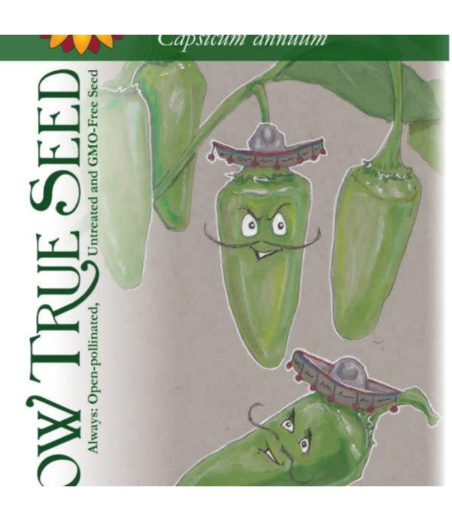 Sow True Seed Pepper - Early Jalapeno