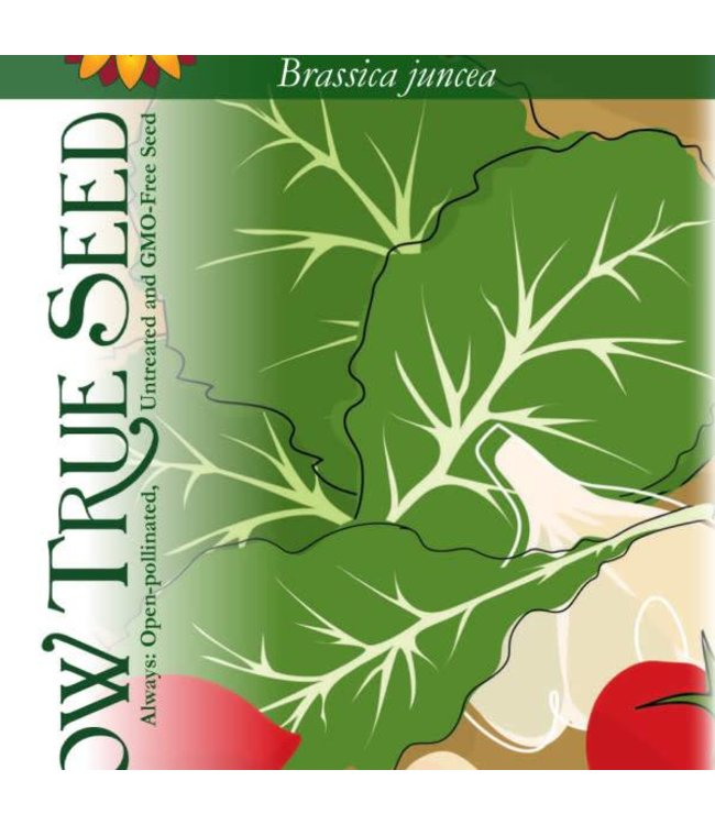 Sow True Seed Mustard Greens - Florida Broadleaf
