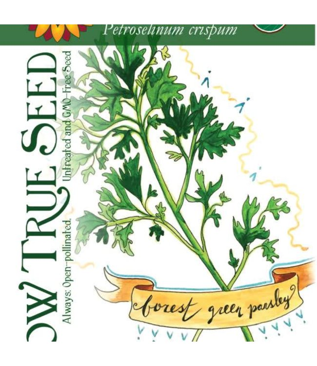 Sow True Seed Parsley - Forest Green