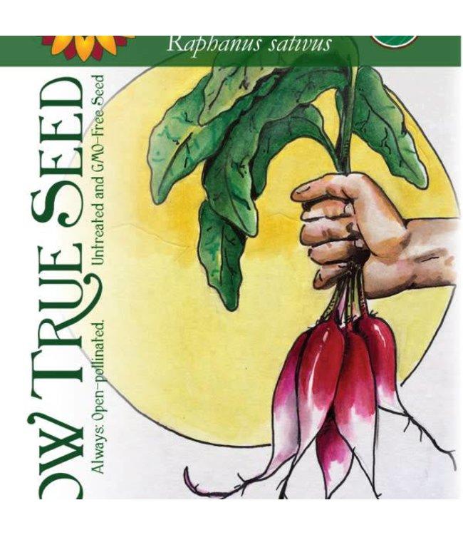 Sow True Seed Radish - French Breakfast Organic