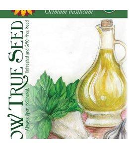 Sow True Seed Basil - Genovese Organic