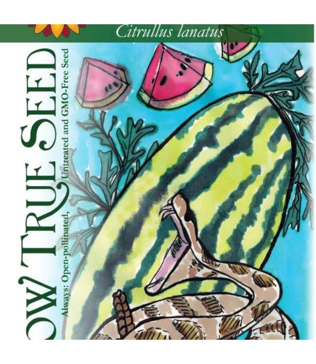 Sow True Seed Watermelon - Georgia Rattlesnake