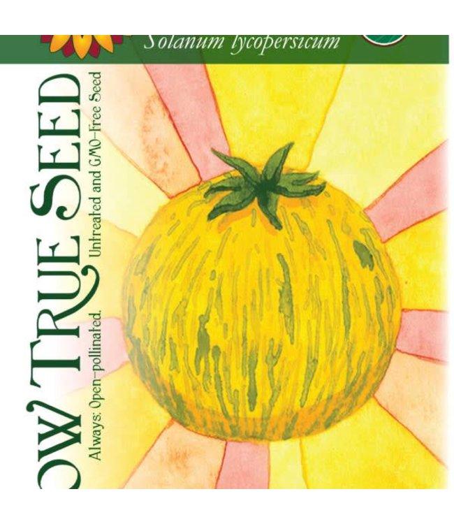 Sow True Seed Tomato - Green Zebra Organic