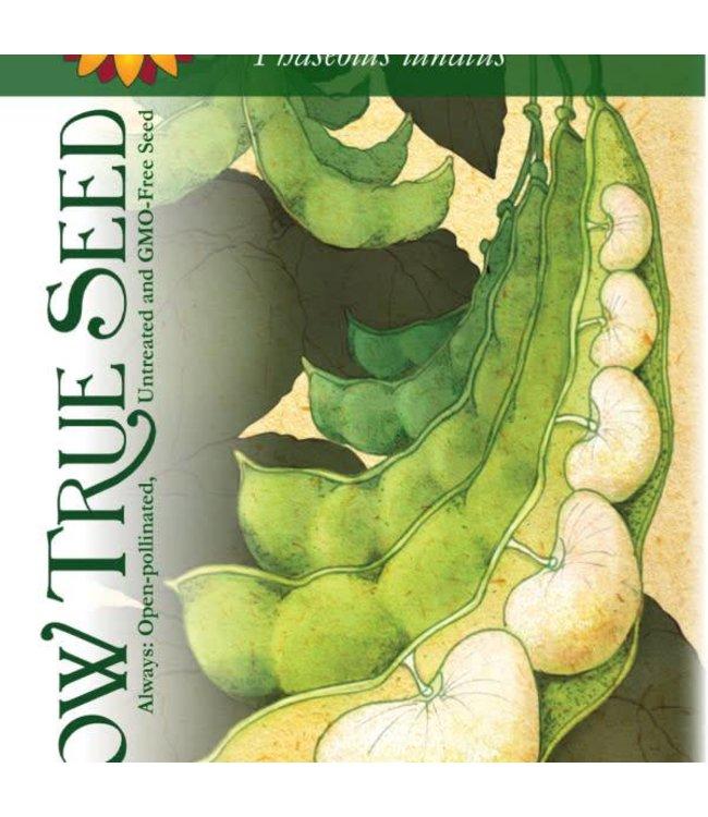 Sow True Seed Lima Bean - Henderson Bush