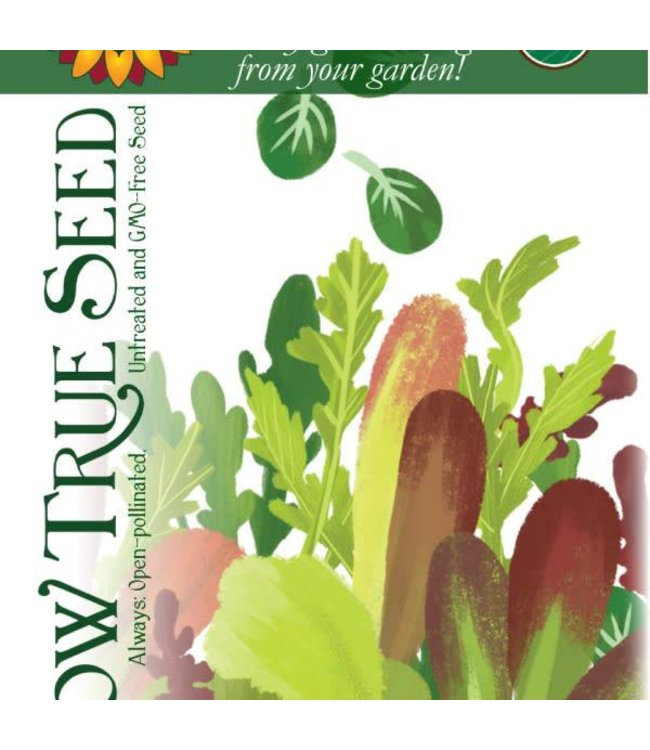 Sow True Seed Lettuce Mix - Herb Salad