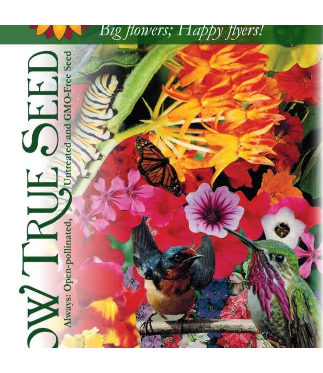 Sow True Seed Flower Mix - Hummingbird/Butterfly