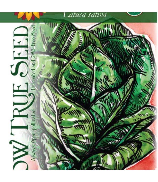 Sow True Seed Lettuce - Jericho