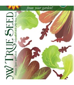 Sow True Seed Lettuce Mix Organic
