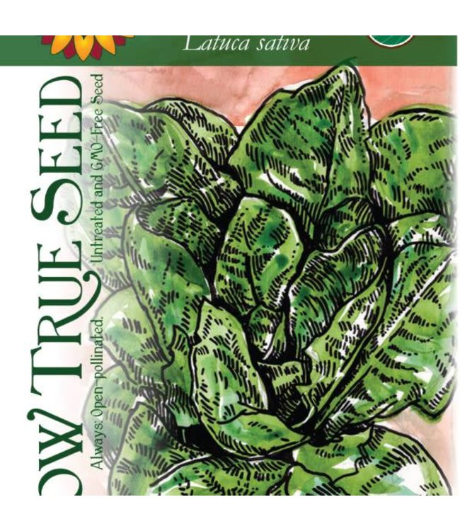 Sow True Seed Lettuce - Parris Island Romaine Organic