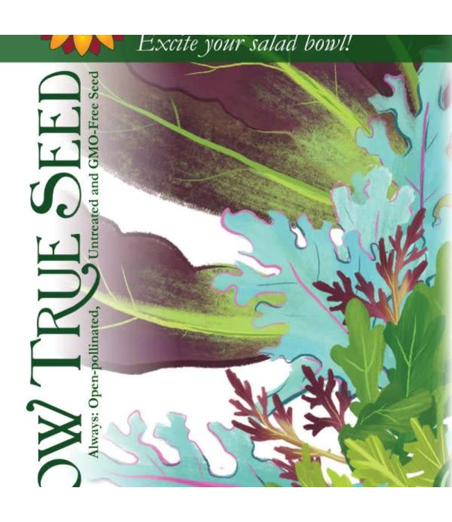 Sow True Seed Mixed Greens - Spicy Mesclun Mix