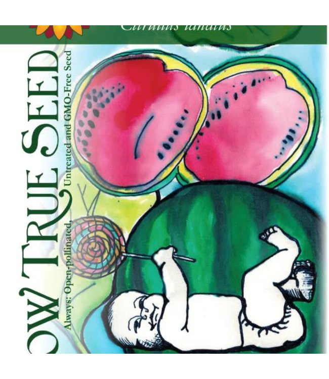 Sow True Seed Watermelon - Sugar Baby Organic