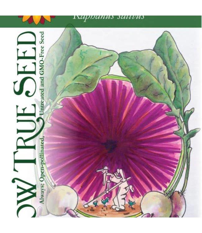 Sow True Seed Radish - Watermelon