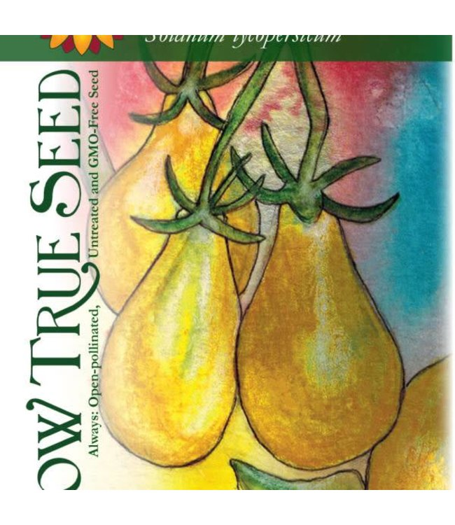Sow True Seed Tomato - Yellow Pear Cherry