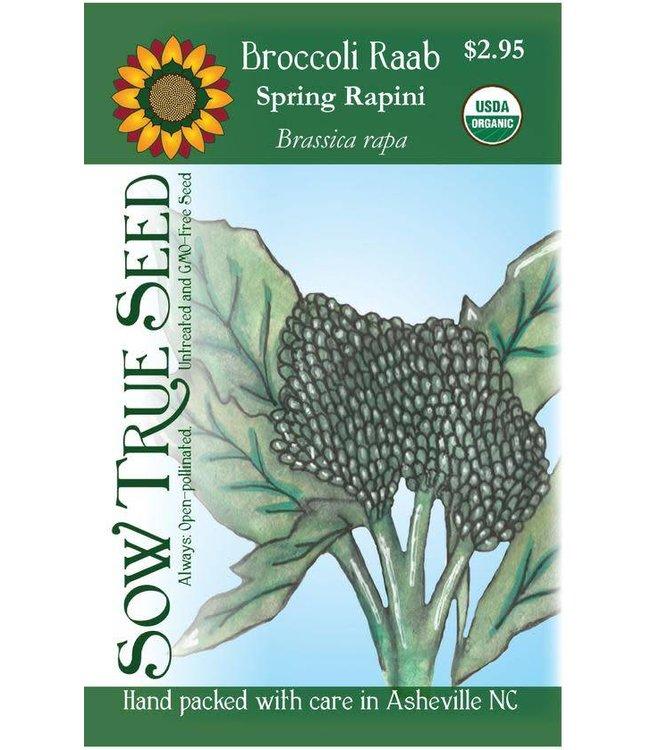 Sow True Seed Broccoli Raab - Spring Rapini