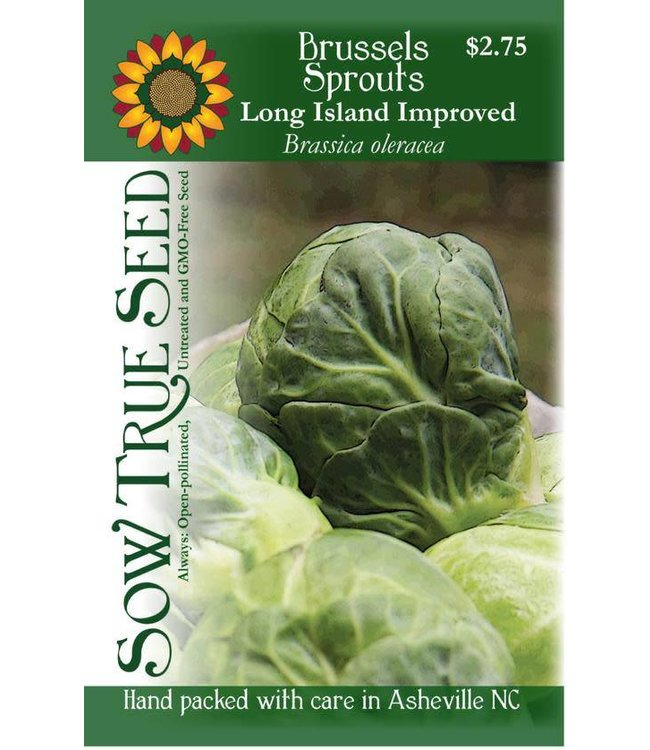 Sow True Seed Brussels Sprouts - Long Island Improved