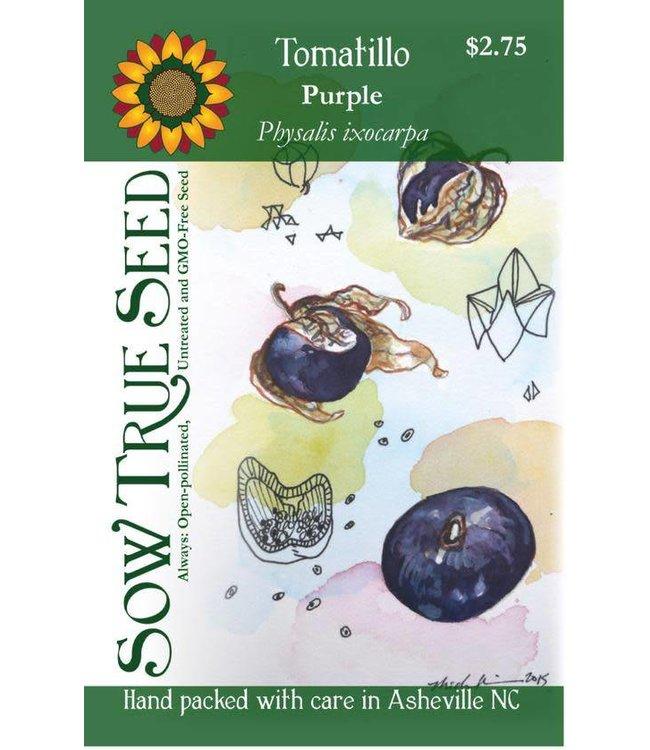 Sow True Seed Tomatillo - Purple