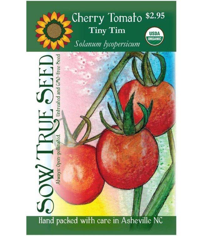 Sow True Seed Tomato - Tiny Tim Cherry